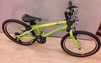 Dawes Academy 20 wheel Boys Kids Bike Lightweight lime Green