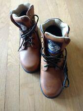 Georgia Boot Women's Size 7 M Steel Toe Brown Work Boots G3334