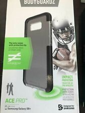 New Ace Pro BodyGuardz Samsung Galaxy S8/S8 plus Case Clear Black