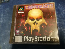 Videogame SHADOW MASTER Playstation 1 PS1 PSX PSONE NEW & SEALED 1st print
