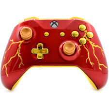 """""""Red Thunder"""" Xbox One S Rapid Fire Modded Controller 40 Mods for SHOOTER GAMES"""