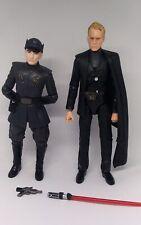 """Star Wars Black Series First Order Officer & Dryden Vos 6"""" Figures Lot Loose"""