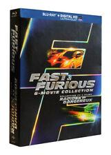 FAST & FURIOUS (6-MOVIE COLLECTION) (BLU-RAY / DIGITAL HD) (BLU-RAY) ( (BLU-RAY)