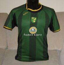Norwich City Football Shirt lejos para Hombre Adulto Pequeño 36/38 pecho Xara 2005-2006