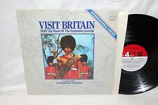 """VISIT BRITAIN w/ The Band Of The Grenadier Guards 12"""" Vinyl LP London Phase 4 ~j"""