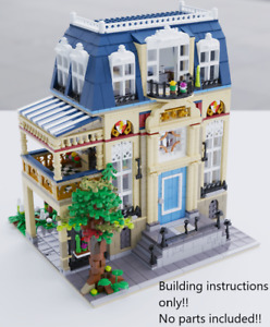 LEGO City Apartment BUILDING INSTRUCTIONS ONLY!! NO PARTS!! 10182 10185 10190