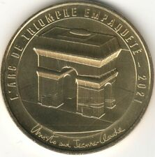 Monnaie de Paris - PARIS - ARC DE TRIOMPHE EMPAQUETE - CHRISTO 2021