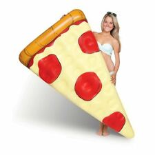 BM Pizza Slice Pool Float 5ft Inflatable Pizza Shaped Fun Sea Water Lilo