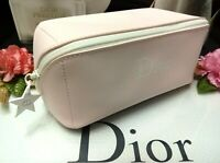 Dior Makeup Bag✰☾Large Wide Mouth Light Pink☽✰ **Elegant** ✰☾Brand New Gift !!☽✰