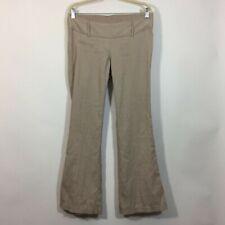 Motherhood Maternity Pants Size Small Tan Stretch Waist BOOTCUT Trouser