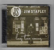 (HX884) The Jim Stapley Band, Long Time Coming - 2014 Sealed CD