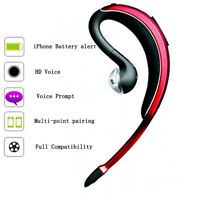 Wireless Bluetooth Headphone headset Microphone handsfree For iPhone 7 6S 5S 5C