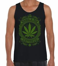 Amsterdam Paradise Of Weed Men's Vest Tank Top - Cannabis Hydroponics