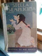 LA STELLA DI SEMPLICINA - P.PERRAULT - A.SALANI 1933- LA BIBLIOTECA RAGAZZI N°9