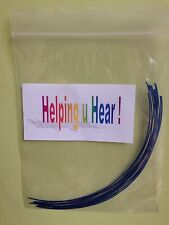 Hearing Aid Tube Cleaning Rods x12 for Micro tube Hearing Aids/Phonak or Similar