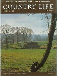 Country Life Magazine Chepstow Acton Round Krishna 9 March 1978 Birthday Gift
