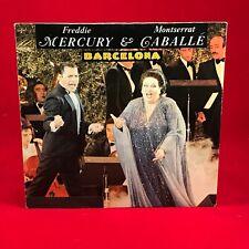 "FREDDIE MERCURY & MONTSERRAT CABALLE Barcelona 1987 German 7"" vinyl Single  G"