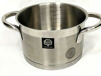 Schulte-Ufer Germany Premium Stainless Steel 18/10 2 Qt Induction Pot Saucepan