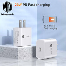 20W Pd Usb-C Fast Wall Charger Adapter For iPhone 12 Pro Max Eu/Us Plug A2Tm