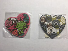 Vera Bradley Heart Nail Files Lola and Cocoa Moss Patterns
