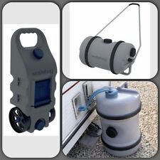 Travel Touring Water Waste & Water Hog Rolling Carrier Container