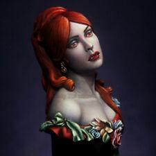 Unpainted 1/12 Figure Bust Model Resin Kit Vampiress Movie Character Garage Kit