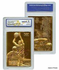KOBE BRYANT  PURPLE SIGNATURE  WCG GEMMT 10 23KT GOLD ROOKIE CARD  #4