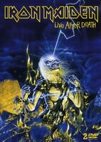 """IRON MAIDEN """"LIVE AFTER DEATH"""" 2 DVD NEW"""