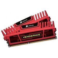 Corsair 8GB 2 x 4 GB DDR3 Vengeance Memory Red CMZ8GX3M2A1600C9R - Brand New!