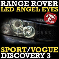 RANGE ROVER SPORT VOGUE DISCOVERY LED DRL ANGEL EYES ANGELEYES SUPER BRIGHT - UK
