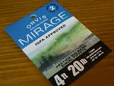 Orvis Mirage Pretied Big Game Bimini Tippets 4ft 20lb / 2 Pack