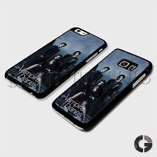 Vampire Diaries Damon Stefan Salvatore Elena Gilbert Phone Case Clip Cover