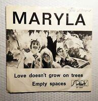 """MARYLA """"Love Doesn't Grow On Trees"""" Spark, Sweden (1970) 45/PS RARE Folk 7"""""""