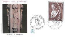 1971   PREMIER JOUR  CATHEDRALE STRASBOURG