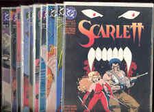 Scarlett DC Comic Books 1-10 Vampires Werewolves Monsters Hunters Demons