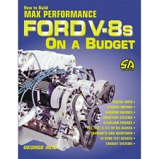 SA69P How to Build Max Performance Ford V-8's On A Budget Book 289 302 351