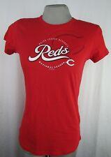 Cincinnati Reds MLB Women's G-III Red Short Sleeve Crew Neck T-shirt