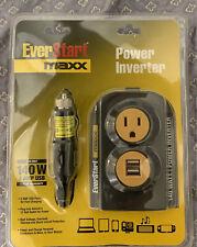 New listing New Everstart Maxx Power Inverter 140 Watt 2 Amp Usb New in pack sealed