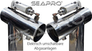 "Seapro electric switchable Exhaust Diverter 4"" Small Block V8 - GM Mercruiser.."