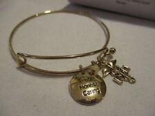 AVON Precious Charms Bracelets Gold tone/Genuine Quartz-Bead Accent  NURSE