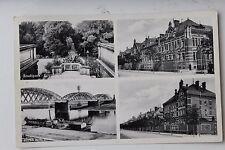 27230 Foto AK RIESA Ansichten Pionier Kaserne, Stadtpark, Brücke, 1935