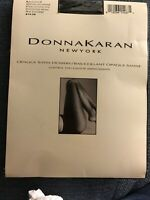 New DNKY Sheers 115 silky sheer to waist pantyhose Buff Tint sz med