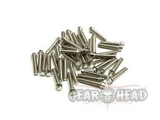 Gear Head RC M2 x 10mm Scale Hex Bolts, Silver (40) GEA1121