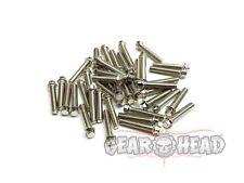 Gear Head RC M2 x 10mm Scale Hex Bolts, Silver (40) GEA1121