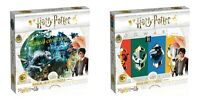 Harry Potter House Crests and Magical Creatures Bundle of 2, 500 Piece Puzzles