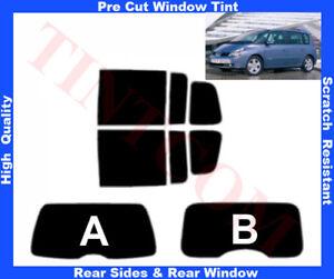 Renault Espace 2003-2007 Pre-Cut Window Tint 5%-50% Rear Window&RearSides