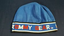 Vintage Tommy Gear Skullcap Beanie Blue Ribbed Fabric Hip Hop NOS 3aa4097c4ac0