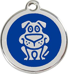 """médaille gravée chien moyen red dingo 3cm """"déstockage"""" prix réduit !!"""