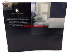Hotel Collection Solid 525 Thread Count Egyptian Cotton QUEEN Sheet Set Ivory