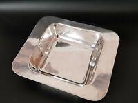 SIVAR Delheid silver plated serving dish bowl vintage 1960s-1970s Modernist